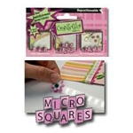Glue Arts Repositionable Refill: Micro Squares