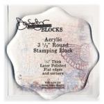 """Donna Salazar Stamping Block: Round, 3.5"""""""