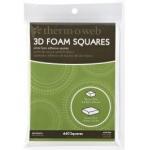 Themoweb Adhesive Foam Squares Combo Pack: White