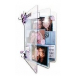 "Zutter Clear Acrylic Covers: 2 Pieces, 3"" x 4"""