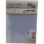 Zutter Clear Acrylic Covers: Folder Tabs, 3 Pieces