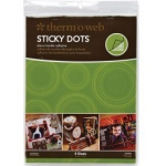 "Thermoweb Sticky Dots Adhesive Sheets: 8.5"" x 11"""