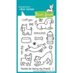 Lawn Fawn Stamp Set: Critters at the Dog Park