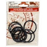 7Gypsies Binding Rings: Medium Black