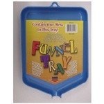 Tidy Crafts Funnel Tray: Blue, Small