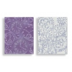 Sizzix Tim Holtz Alterations Texture Trades Embossing Folders Set: Steampunk, Pack of 2