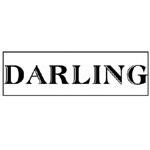 JustRite Pre-Inked Large Individual Stamps: Darling