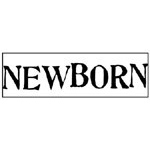 JustRite Pre-Inked Large Individual Stamps: Newborn