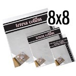 "Teresa Collins Designs 8"" x 8"" Page Protectors: 8"" x 8"" Protective Sheets, 6 Piece Pack"