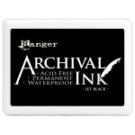 Ranger #3 Archival Ink Pads: Jet Black