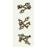7Gypsies Mini Keys: Antique Brass