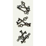 7Gypsies Mini Keys: Antique Silver