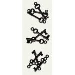 7Gypsies Mini Keys: Black