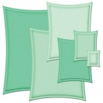 Spellbinders Nestabilities and Decorative Elements: Wonky Rectangle