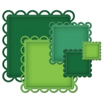 Spellbinders Nestabilities Decorative Elements: Lacey Squares