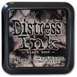 Ranger Distress Pads by Tim Holtz: Black Soot