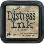 Ranger Distress Pads by Tim Holtz: Old Paper