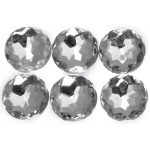 "Bottle Cap Inc. 1/2"" Crystal Gems: Pack of 6"