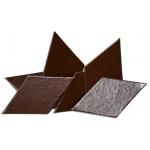 Heidi Swapp Chipboard Ornaments Diamonds: Brown