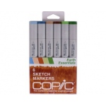 Copic Sketch Markers Set: Earth Essentials
