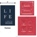 Heidi Swapp Credit Card Family: Frames