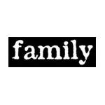 Heidi Swapp Iron-On Words Family