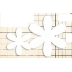 Jenni Bowlin Studio Chipboard Shapes Flower Set: 4 Pieces