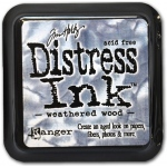 Ranger Tim Holtz Distress Ink Pads: Weathered Wood