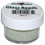 Judikins Glass Beads: Micro Clear, 0.5 oz.