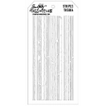 Stampers Anonymous Tim Holtz Stripes Layering Stencil
