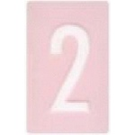 Making Memories Mailbox Alphabet Perfect Pink Numbers