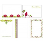 Making Memories Mistletoe Collection Clear Glitter Frames