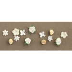 Making Memories Tie The Knot Collection Mixed Flowers