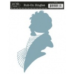 Jenni Bowlin Studio Rub-On Singles: Gentlemen Silhouette, Limited Edition