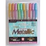 Sakura of America Gelly Roll Pens: Metallic, 10 Piece Set