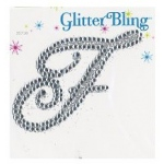 Making Memories Glitter Bling Monogram Script: F