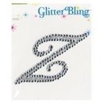 Making Memories Glitter Bling Monogram Script: Z