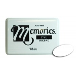 Stewart Superior Memories Dye Ink Pads: White