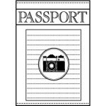 Teresa Collins Travelogue Cling Mounted Rubber Stamps: Passport