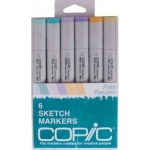 Copic Sketch Marker Set: Pale Pastels
