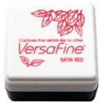 Tsukineko VersaFine 1 in Cube Pads: Satin Red