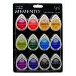 Tsukineko Memento Dew Drops: Gum Drops, Pack of 12