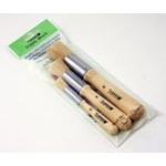 Tsukineko Stipple Brushes: Pack of 3