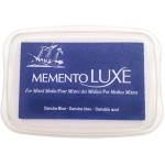 Tsukineko Memento Luxe Inkpad: Danube Blue