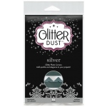 Therm O Web Glitter Dust Photo Corners: Silver