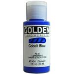 Golden Fluid Acrylics: Cobalt Blue, 1 oz.