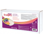 Sculpey® Original Oven Bake White Clay 8 lb.: White/Ivory, Bar, 8 lb, Oven Bake, (model WS8), price per each