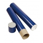 "Alvin® Indigo Fiberboard Tubes 31""; Color: Purple; Diameter: 5 1/2""; Length: 31""; Material: Fiberboard; (model T420-31/BX), price per box"