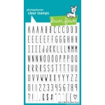 Lawn Fawn Stamp Set: Milo's ABCs