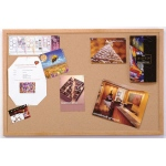 "Ghent® Wood Frame Traditional Cork Bulletin Board 2"" x 3"": 24"" x 36"", Cork Board, (model 1423-1), price per each"